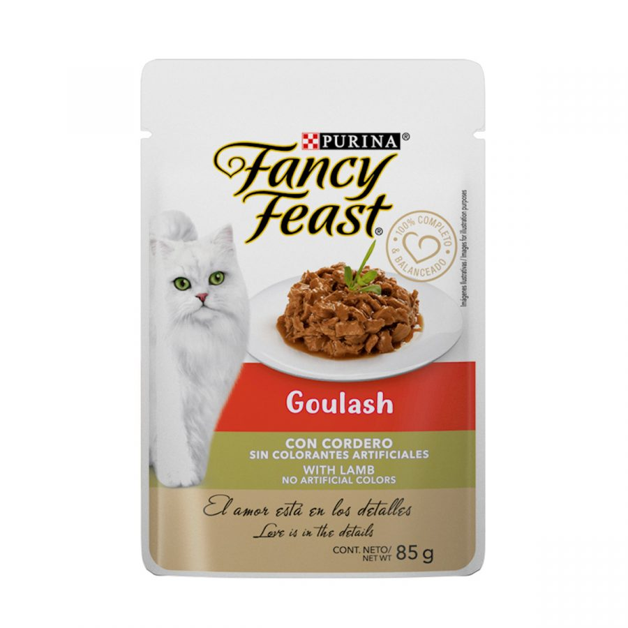Fancy Feast Goulash con Cordero Pouch